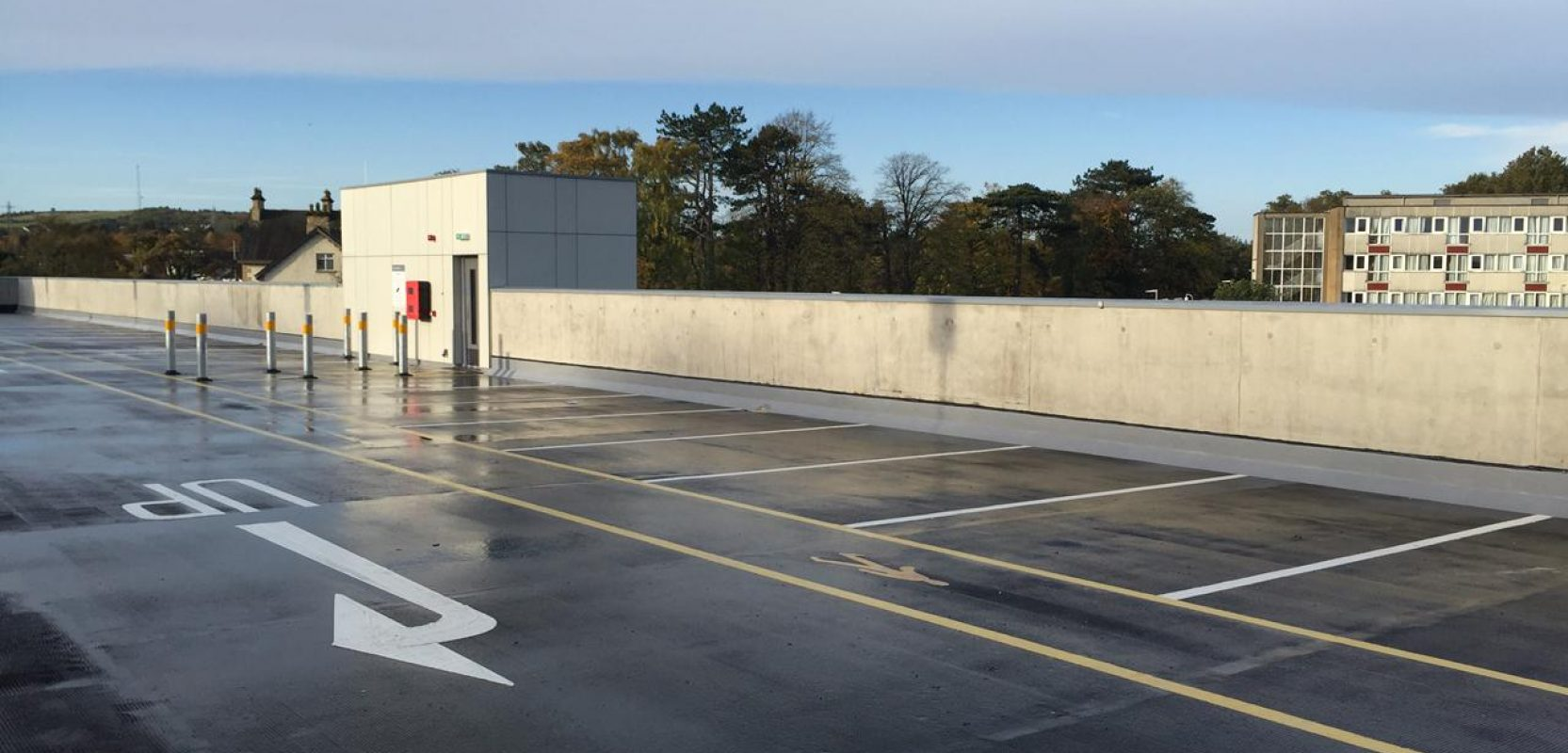 Images of Altnagelvin Hospital Carpark project