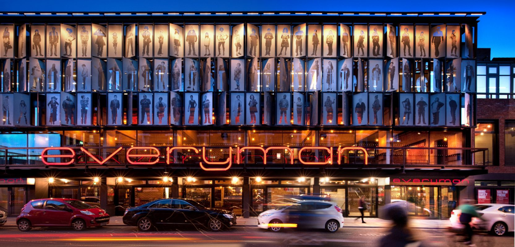 Images of Everyman Theatre project