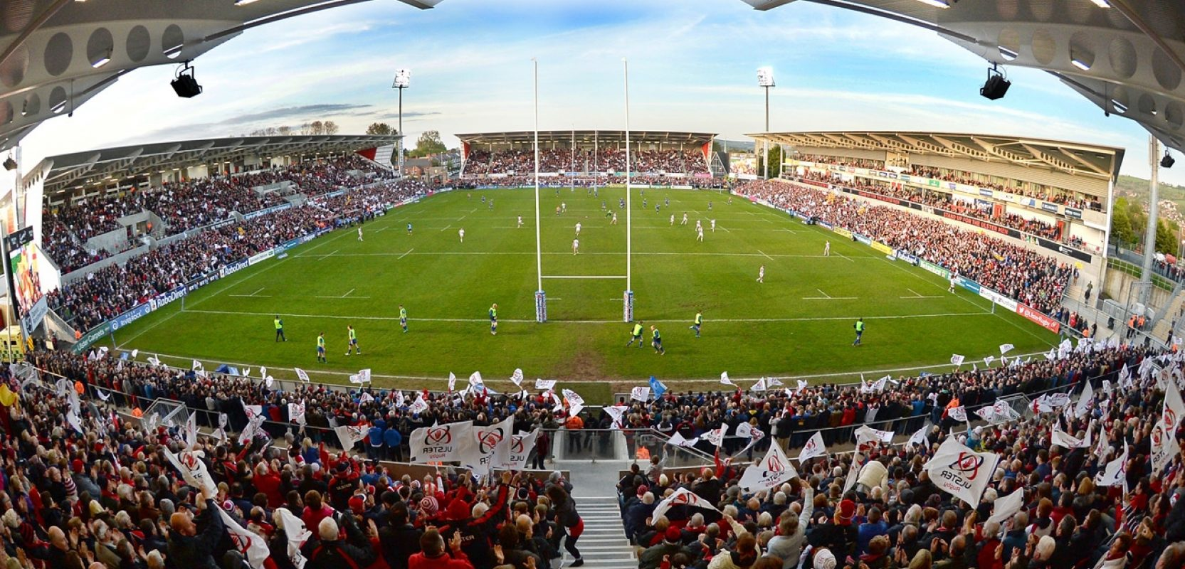 Images of Kingspan Stadium project