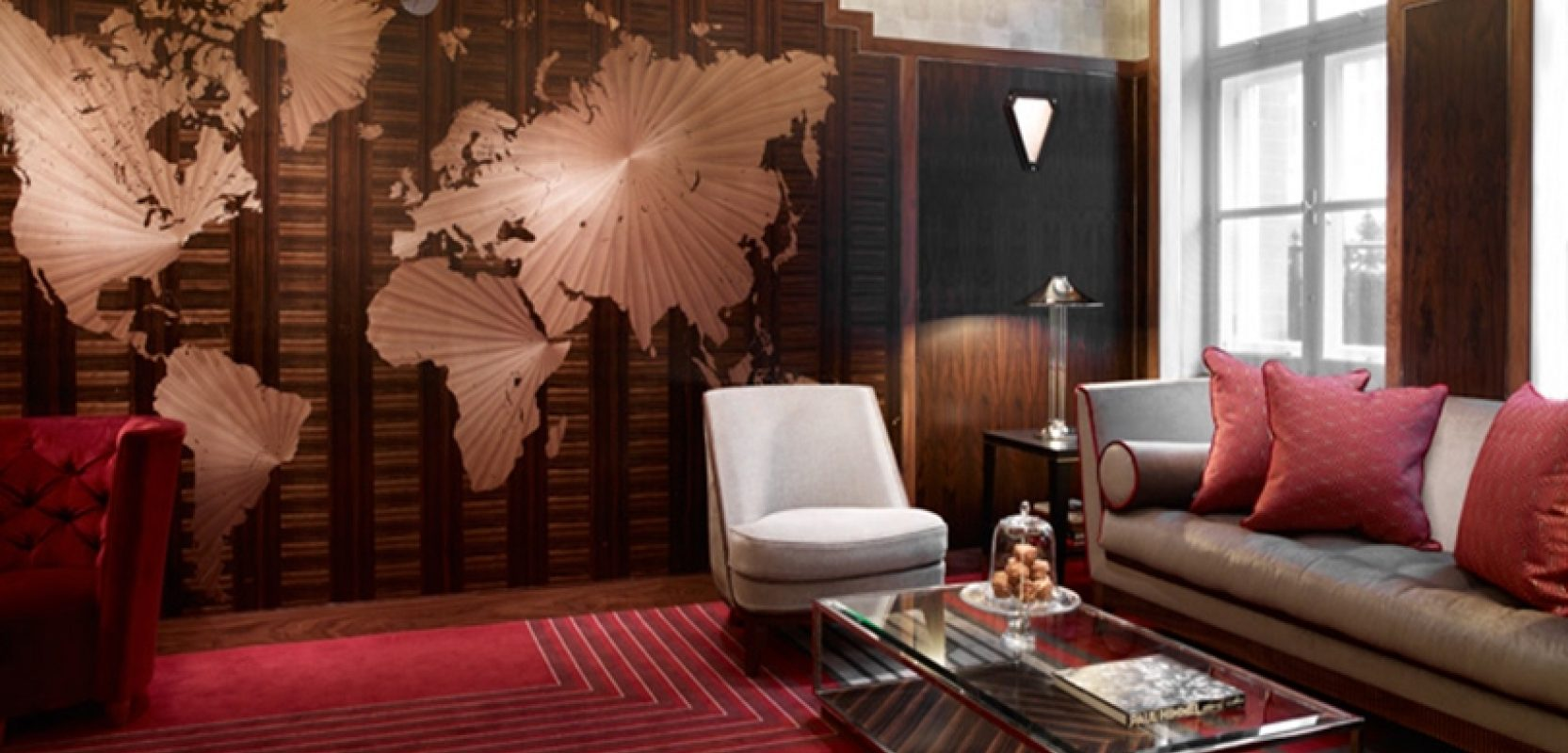Images of The Map Room, Claridge's Hotel project